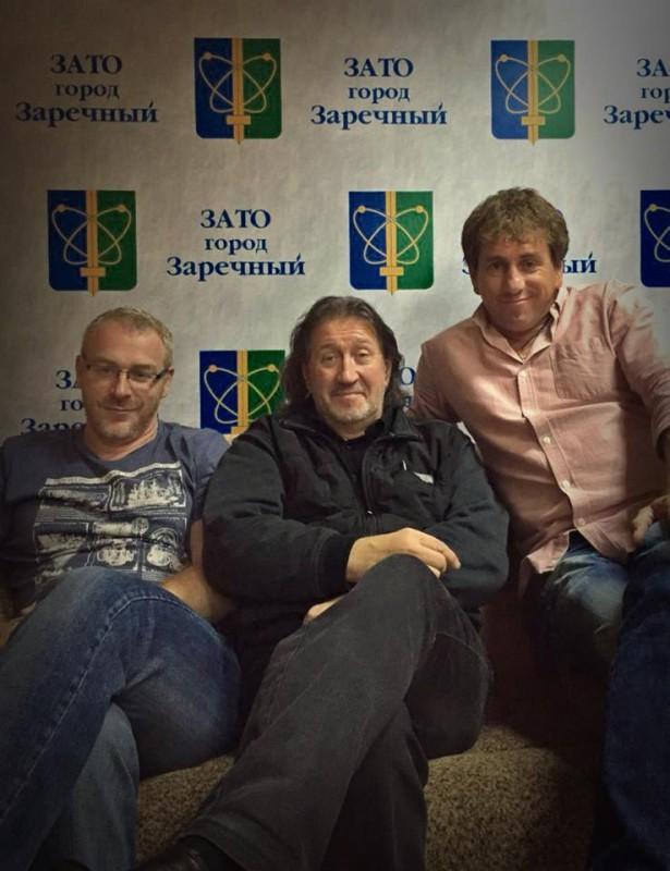 С Родионом Марченко и Романом Ивановским
