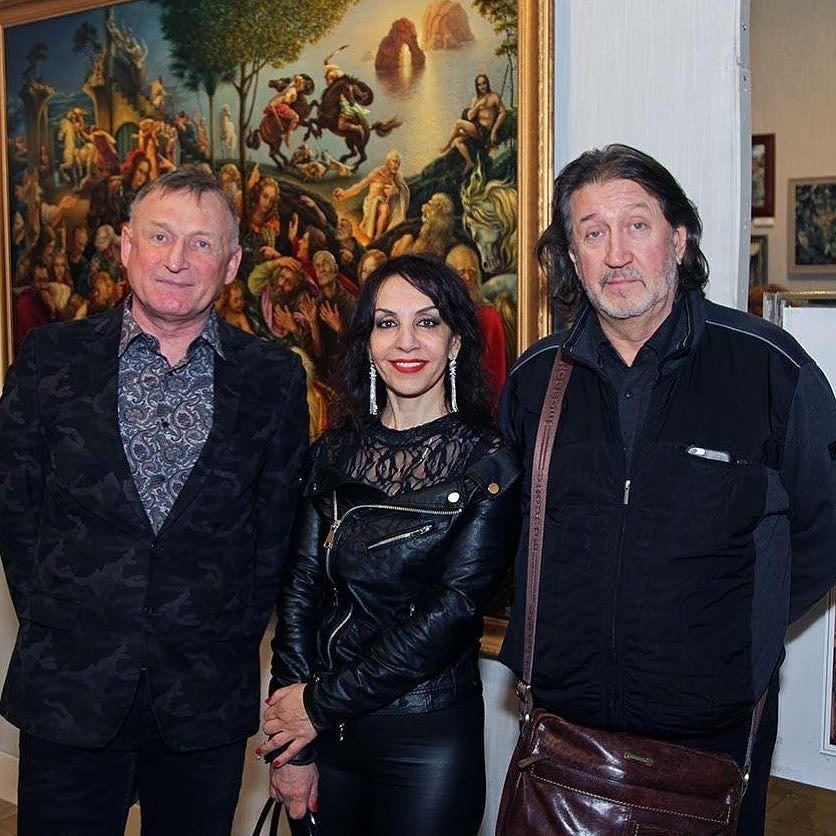 С Владимиром Чикиным