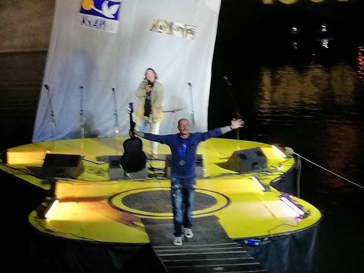 С Александром Розенбаумом 11.08.2018 Концерт на Гитаре