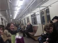 """А еще говорят что """"Звезды не ездят в метро""""..."""