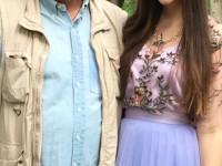 Олег Митяев с дочерью Дашей в день получения аттестата 23.06.2017 г.