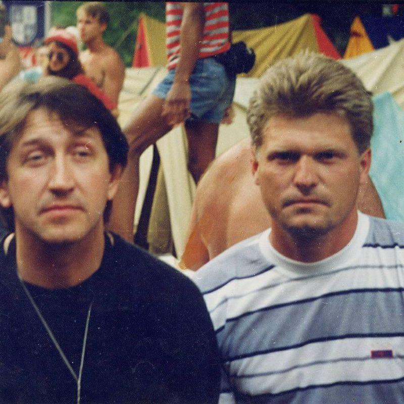 На Грушинском фестивале. 2 июля 1998 г.