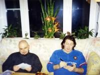 2004 г. С Сергеем Трофимовым