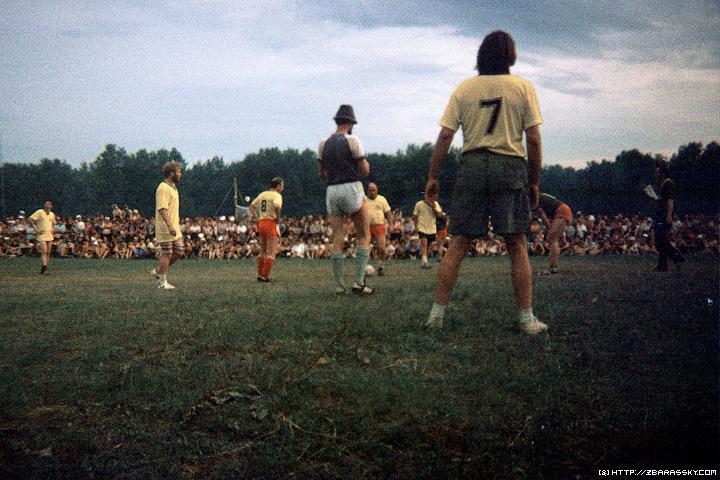 Грушинский футбол 1993 г.