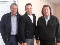 С Леонидом Марголиным и Борисом Касьяновым