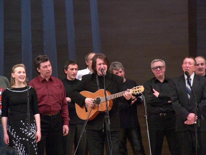 Грушинский в Москве. 17.03.2004 г.