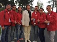 С волонтерами Доброграда