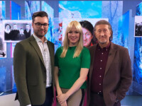 С ведущими телеканала ОТР - Максимом Митченко и Марией Карповой