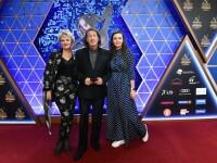 С семьей на Церемонии вручения Российской национальной музыкальной премии «Виктория - 2019»