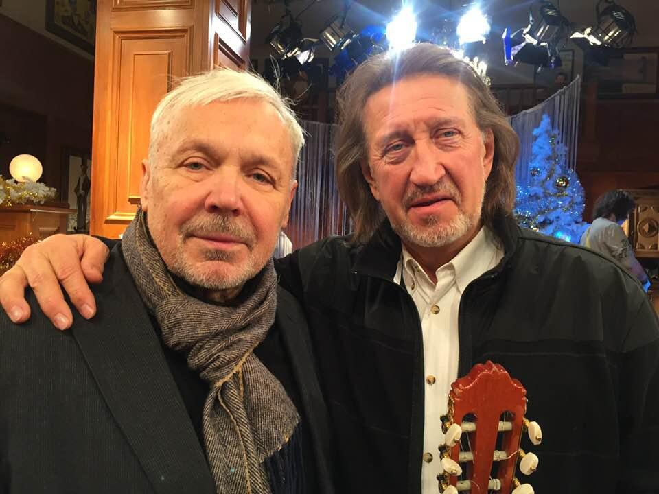 С Василием Мищенко 25.11.2019 г.