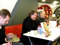 (8 ч.) Автограф сессия. Презентация 3-ей книги «Песни» 2013-03-02
