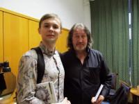С Михаилом Волковым