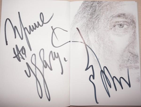 Автограф для Ирины
