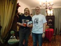 Художник Игорь Сакуров с другом Вениамином Махаличеввым, г.Ярославль