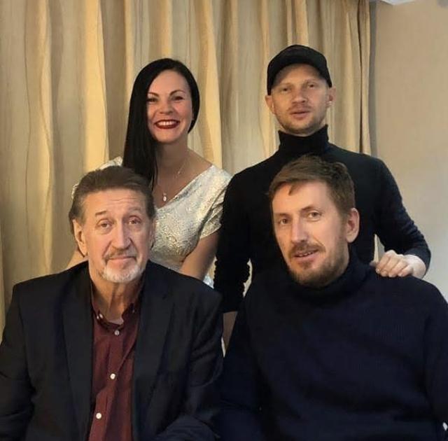 С Дмитрием Хрусталевым и Кириллом Кяро