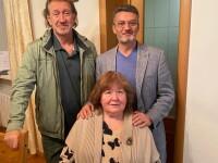 С Викторией Токаревой и Борисом Гороватером