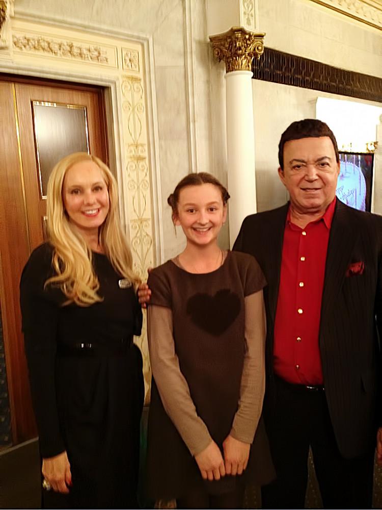 Даша Митяева и Иосиф Кобзон
