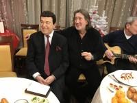 """С Иосифом Кобзоном на съемках передачи """"Приют комедиантов"""""""