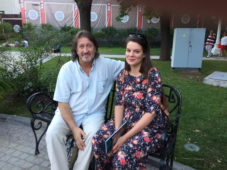 Олег Митяев и Вера Полозкова