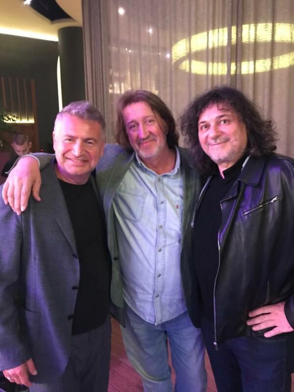 С Леонидом Агутиным и Александром Шевченко