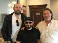 С Семеном Слепаковым и Михаилом Галустяном