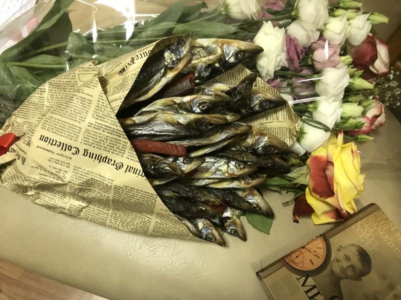 Букет из рыбы)