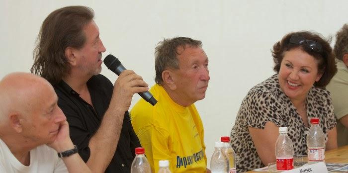 XLI Грушинский фестиваль. Пресс-конференция 4 июля 2014 г