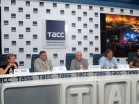 7.08.2018 ТАСС. Пресс-конференция, посвящённая 45 Грушинскому фестивалю