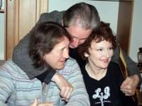 С Вениамином Смеховым и Мариной Есипенко