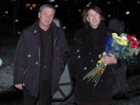 После концерта в Архангельске