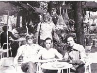 Неаполь, 1979 Олег и его невеста...