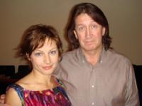 С Алёной Бабенко