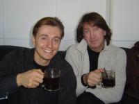 С Сергеем Безруковым
