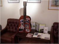 Олег Митяев  в Литературной гостиной Библиотеки Автограда