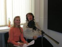 С Галиной Хомчик, 2005 г