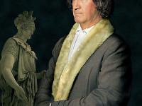 Фото репродукции картины Карла Йозефа Бегаса...