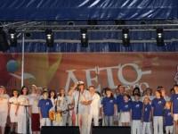 На гала-концерте 19 августа 2012 г