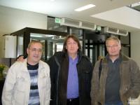 С П.Старцевым и А.Поповым
