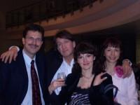 С Александром и Натальей Прокопович