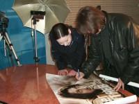 С Натальей Зелёной 2002 г