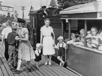 Детская ЖД станция им.Павлика Морозова. 1957-58 гг.
