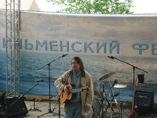 Одинокий гитарист... Ильменка - 2010