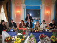 Юбилей однополчанина В.Стома.2007 год.