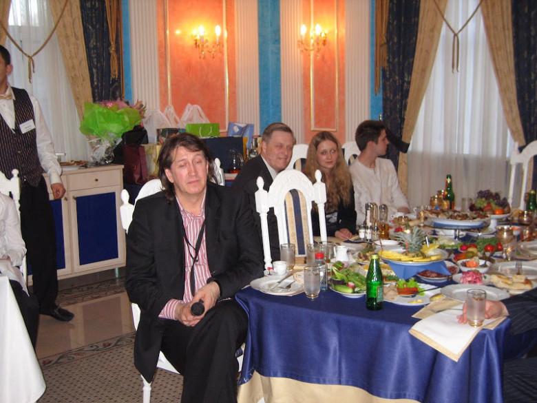 Юбилей однополчанина В.Стома. 2007 год.