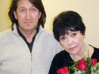С Беллой Ахатовной Ахмадуллиной. 2005 год