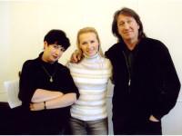 С Вероникой Долиной и Галиной Хомчик