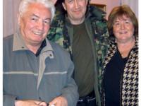 С Викторией Токаревой в гостях у соседа, Владимира Войновича