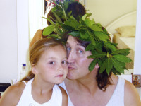 С дочкой Дашей