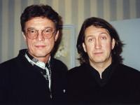 С Иваром Калныньшем. 2006 год.
