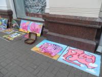 """Розовый слон на """"Арбате"""" в Ярославле"""